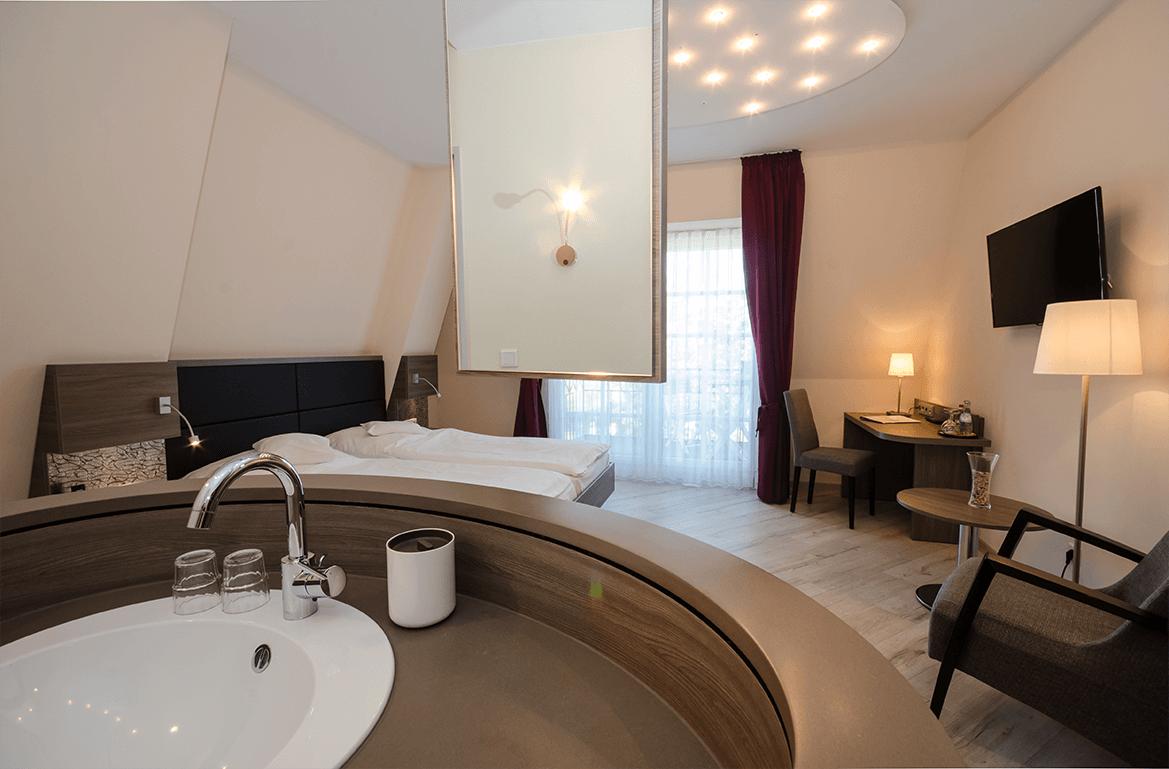 Hotel Lange Leer doppelzimmer-exklusiv-leda